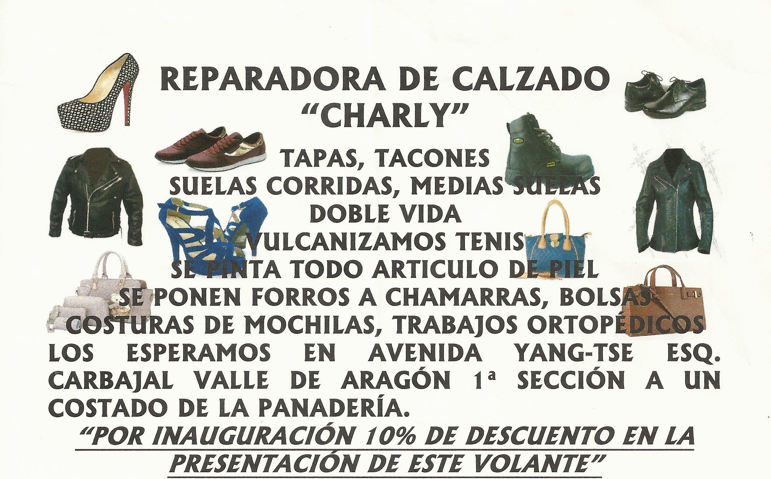 Reparacion de Calzado Charly – Go Aragon 0a9a2fddb5ae1